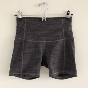 "Lululemon Wunder Short 5"" Cool Cocoa Soot Light 6"